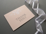 beautiful vintage thank you note