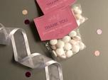 candy bag custom wedding favors
