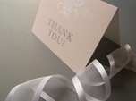 charming chic thank you note