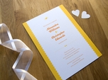 charming rustic wedding invite
