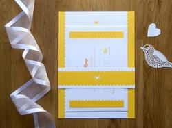 charming rustic wedding wrapper