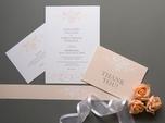 classic vintage wedding invitation