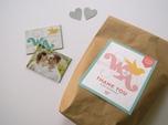 custom creative wedding favor bag