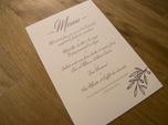 french provence wedding menu