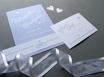 lovely whimsical wedding invitation
