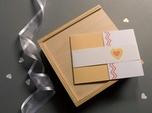 retro custom wedding invitation