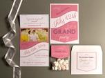 romantic custom wedding paper goods