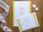 romantische rustikale hochzeits-rsvp-karte