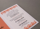 sweet elegant wedding invitation set