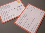sweet script font wedding invitation